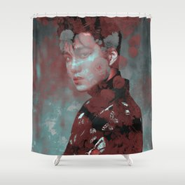Toxic Silk | Kai Shower Curtain