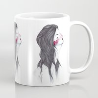 marina Mugs featuring Marina. by Marina Guiu