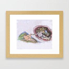 Sistine 45 Framed Art Print