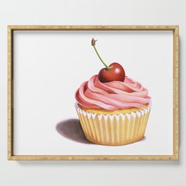 The Perfect Pink Cupcake Serving Tray