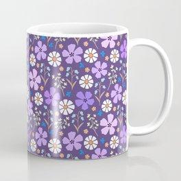 Violet floral (dp violet) Coffee Mug