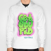 fresh prince Hoodies featuring Fresh Prince by DeMoose_Art