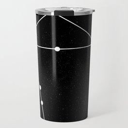 LIBRA (BLACK & WHITE) Travel Mug