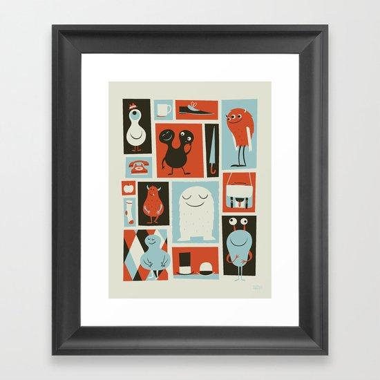 All Set Framed Art Print
