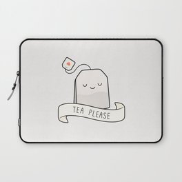 Tea Please Laptop Sleeve
