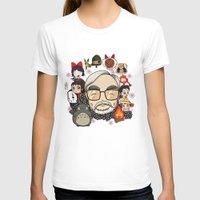 hayao miyazaki T-shirts featuring Ghibli, Hayao Miyazaki and friends by KickPunch