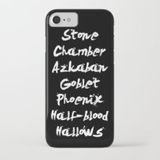 Harry Potter Book Titles iPhone 7 Slim Case