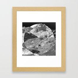 Little shack Framed Art Print