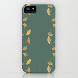 Ginkgo Line iPhone Case