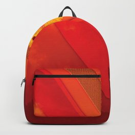 Warm Diagonal Backpack