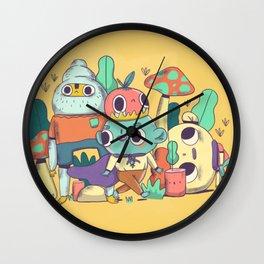 Fungiland Wall Clock