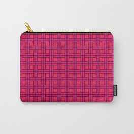 Pink Basket Carry-All Pouch