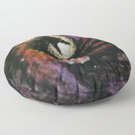 Dragon Galaxy Floor Pillow