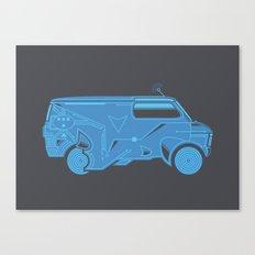 TRON Van Canvas Print