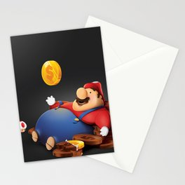 16 Bit Addictions Stationery Cards