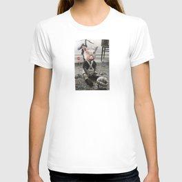 PigBaby Collage T-shirt