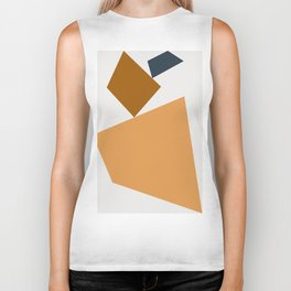Abstract Geometric 24 Biker Tank