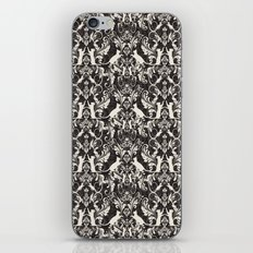 Victorian cat damask iPhone & iPod Skin