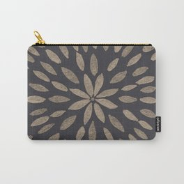 Mandala Flower #5 #drawing #decor #art #society6 Carry-All Pouch