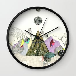 Climbers - Cool Kids Climb Mountains Wall Clock