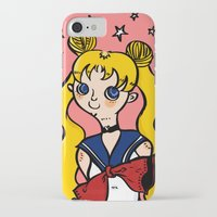 sailormoon iPhone & iPod Cases featuring Sailormoon! by poetickles