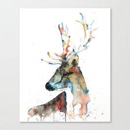 Deer - Fallow Deer Canvas Print