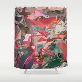 unfinished beauty Shower Curtain
