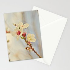 Almond Blossoms in the Wind Stationery Cards