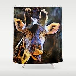 Girafe Shower Curtain