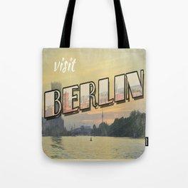 vintage Berlin Tote Bag