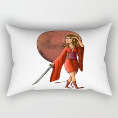 Mars Princess Rectangular Pillow
