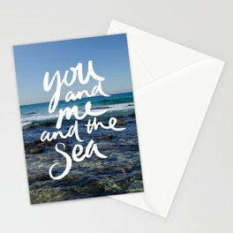 You and Me and the Sea Stationery Cards