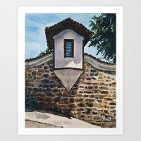 The Small Window Art Print