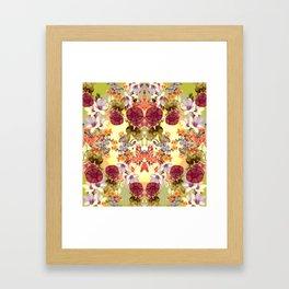 Dainty Garden Framed Art Print
