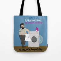 equality Tote Bags featuring Equality by Désirée Nordbusch