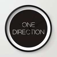 one direction Wall Clocks featuring One Direction by harrystyless