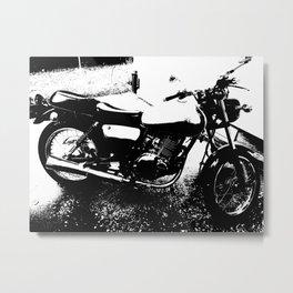 my 2013 Suzuki tu250 Metal Print