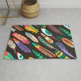 Feather Fever Rug