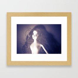 Doll Face Framed Art Print