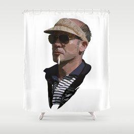 Hunter S Thompson Shower Curtain