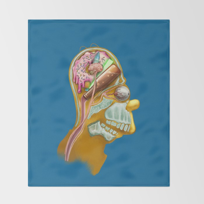 Homeric Thought Throw Blanket