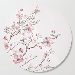 Apple Blossom Pink #society6 #buyart Cutting Board