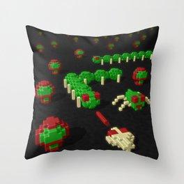 Inside Centipede Throw Pillow