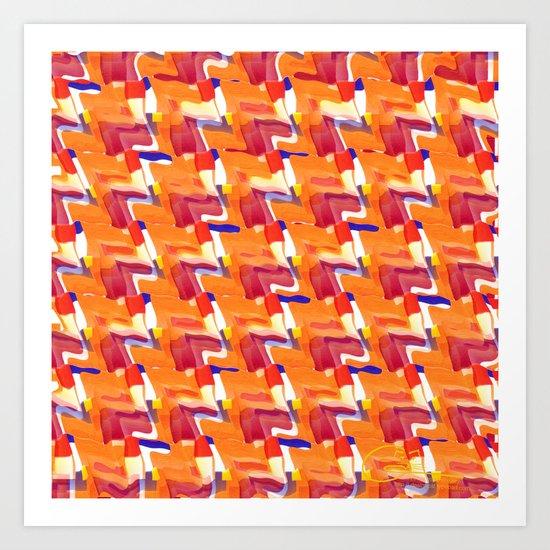 Orange ya glad? Art Print