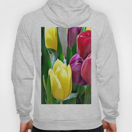 Tulips From Amsterdam Hoody