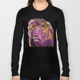 Lion in Royal Colors Long Sleeve T-shirt