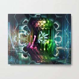 Devil Kiss Metal Print