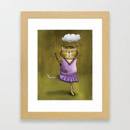 'Olive' Framed Art Print