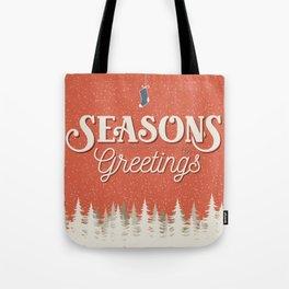 Seasons Greetings - Holiday Cheer Tote Bag