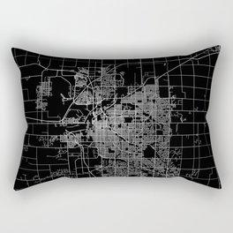 Lincoln map Nebraska Rectangular Pillow
